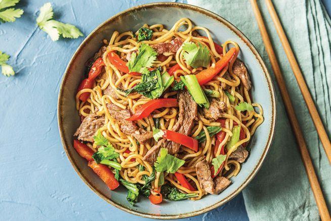 Most popular recipes - Speedy Stir-Fried Beef & Hokkien Noodles