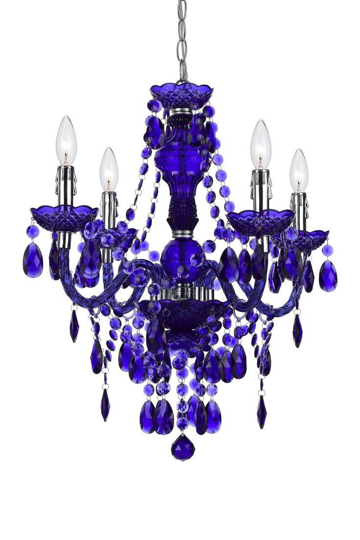 mini chandelier in blue 1440 best Chandeliers