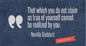 Neville Goddard Quote - Levnow