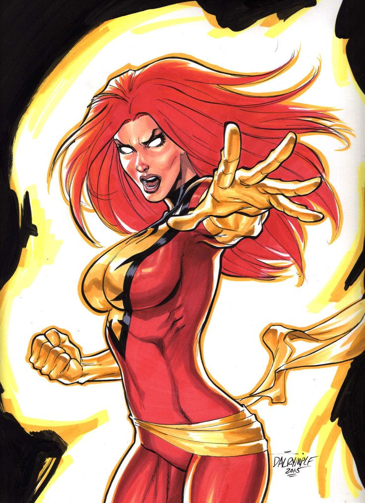 Dark Phoenix (Jean Grey) by Scott Dalrymple