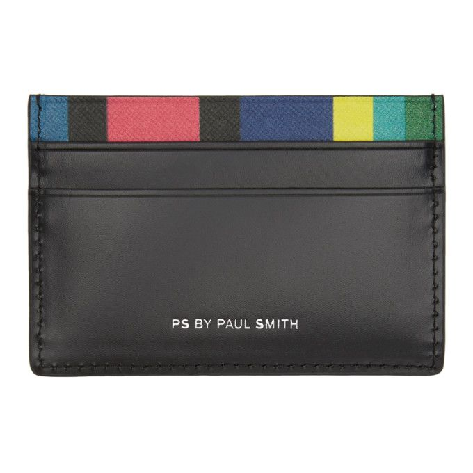 PS by Paul Smith - Black Stripe Card Holder