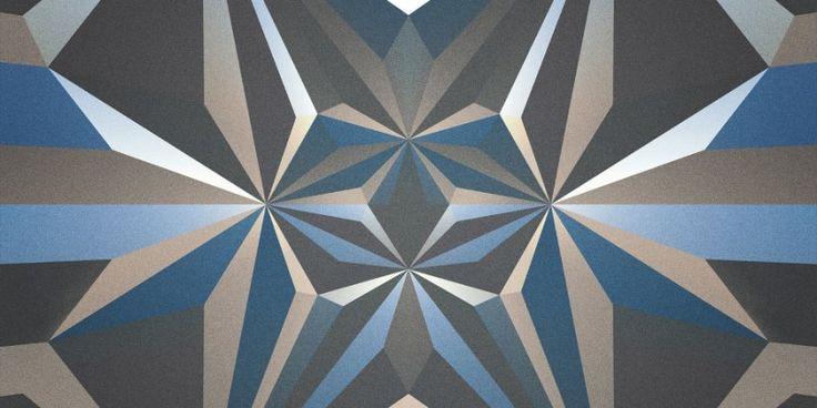 Impressions Géométriques Psychédéliques - Chambre237