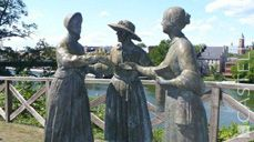 19th July - On this day: Amelia Bloomer attended the first women's rights convention in Seneca Falls, New York 1848   (Source: Castelli 2017 corporate diary/2017 diaries feature facts every day)