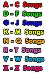 Pre-K Fun - Alphabetical Index of Hundreds of Children's Song Lyrics