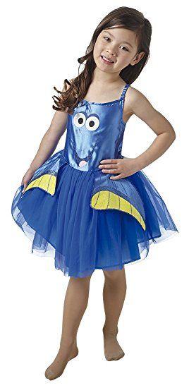 Rubie 's Offizielle Dory Tutu Kleid finden Dory Disney Pixar Fancy, Kinder Kostüm für 5-6Jahre-Medium