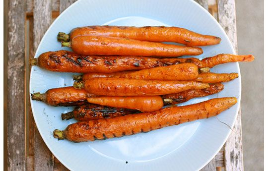 grilled carrots - must try!