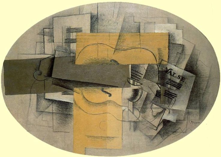 Image result for braque analytical cubism paintings