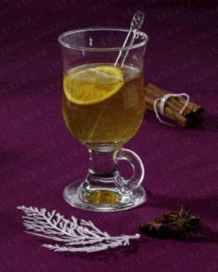 Das Rezept für Weißer Orangen-Glühwein und weitere kostenlose Rezepte auf LECKER.de