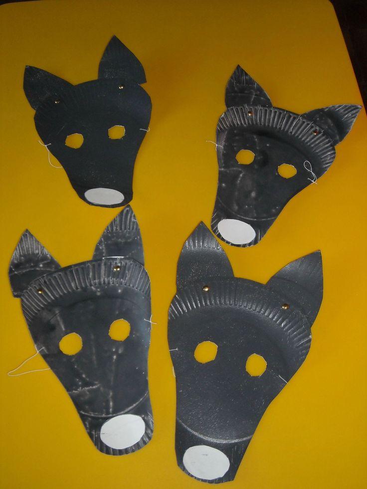 loup bricolage maternelle - Le loup qui voulait changer de couleur