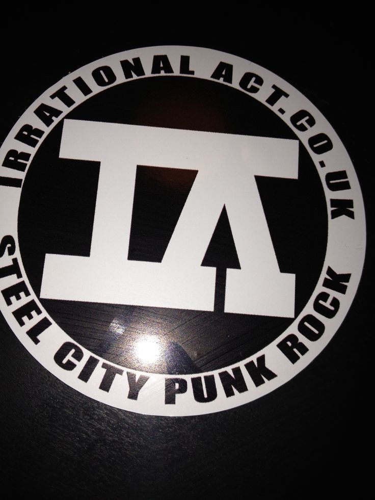 Irrational Act: Punk Rock/ Skate Punk. Recorded with us a while ago, lovely chaps, despite their lyric of; 'right now I want to punch you in the throat'