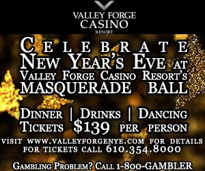 Valley forge casino new years eve