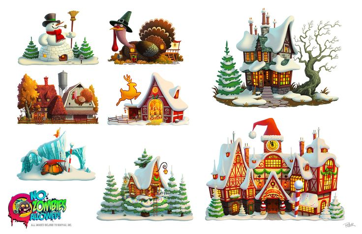 NZA! Holidays by petura on deviantART. Cute RPG House.