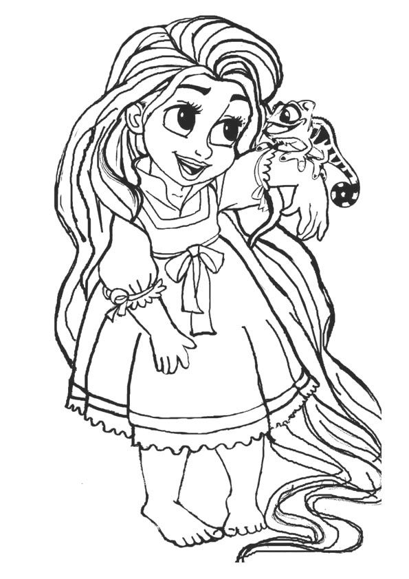 50 Beautiful Frozen Coloring Pages For Your Little Princess Disney Princess Coloring Pages Baby Coloring Pages Tangled Coloring Pages