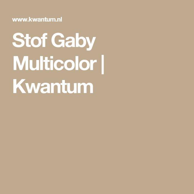 Stof Gaby Multicolor | Kwantum
