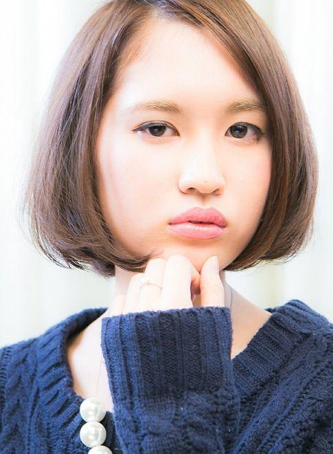 【ボブ】大人ナチュラルな艶ボブ/VIRGOの髪型・ヘアスタイル・ヘアカタログ|2016冬春