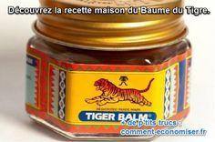 comment fabriquer soi même baume du tigre naturel Cire d'abeille en pastille - Huile de coco - Huile essentielle d'eucalyptus - Huile essentielle de menthe poivrée  - Huile essentielle de clou de girofle  - Feuilles de sauge