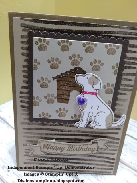 happy tails bundle stampin u0026 39  up  c  by diane furniss 2019