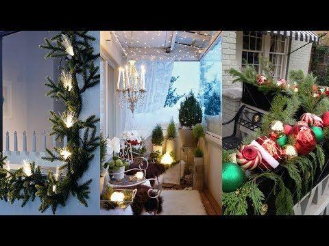46 Decoración De Navidad De Balcones Y Terrazas Tendencias Detalles Na Decoracion Navideña Balcones Decoracion Navidad Balcones Decoración Exterior Navidad