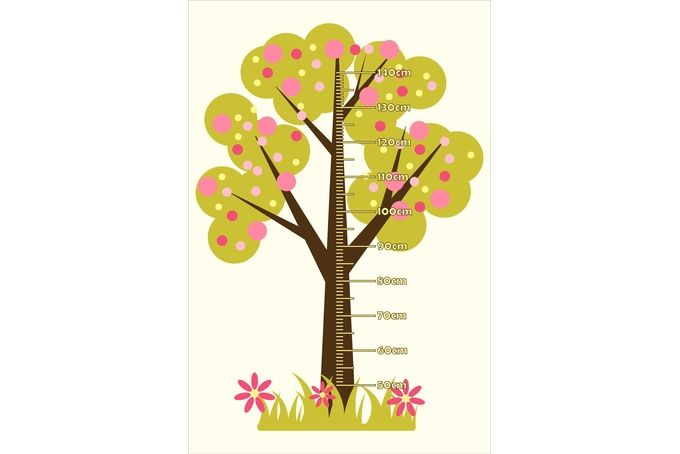 Bubble Tree - Growth Chart by Nevertheless Canvas and Wall Art