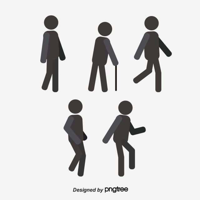 People Walking Silhouette Figures Vector Silhouette Figures Png And Vector With Transparent Background For Free Download Photo Poses For Boy People Walking Png People Icon