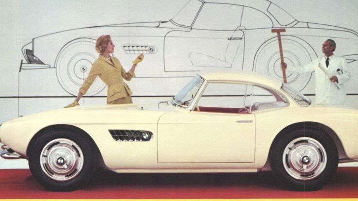 Goetze entwarf den BMW 507 Roadster