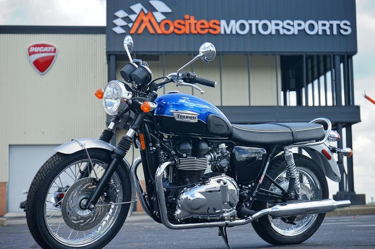 2015 Triumph BONNEVILLE T100 for sale in North Versailles, PA | Mosites Motorsports   BRIAN HENNING 724-882-8378 Mosites Motorsports Sales Professional  Come see me at the dealership and I will give you a $1 scratch off PA lottery ticket just for coming in to see me. (While Supplies Lasts)