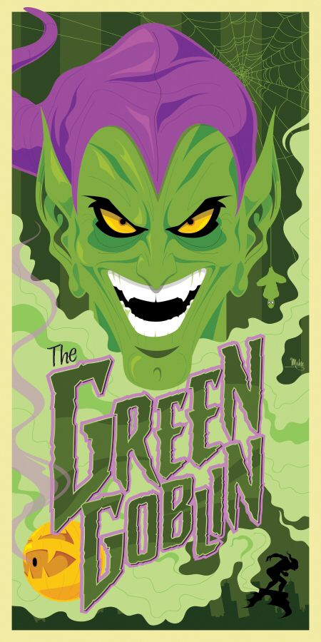 The Green Goblin by MikeMahle on @DeviantArt