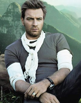 "Ewan McGregor - Depth in every way... including traveling by motorcycle, boat, plane and foot to deliver vaccines to children in remote parts of India, Nepal and the Republic of Congo.  ""I have to say I am an optimist. I've always been built that way. I'm quite a happy person. I can find joy in lots of things. I just am happy. I don't have to look for it. I don't have to do things to encourage my sense of optimism. I have it anyway."""