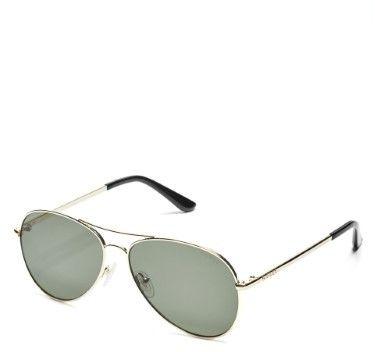 GUESS Men's Aviator Sunglasses