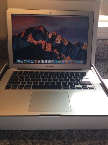 MacBook Air 13 Inch A1466 8GB Memory 256gb Hard drive