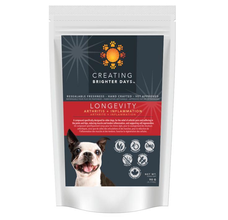 Longevity Nutraceutical Pet Treats 30.00 3mg CBD per