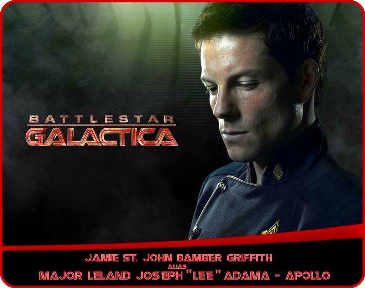 «Jamie St. John Bamber Griffith» alias «Commander Leland Joseph Lee Adama» - «Apollo»