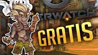 ¡¡DESCARGA OVERWATCH GRATIS!! - PROBANDO EL NUEVO MAPA JUNKERTOWN