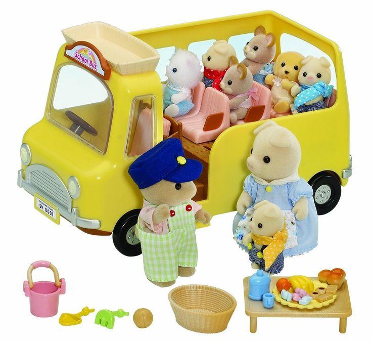 Sylvanian Families Nursery Bus https://www.greenanttoysonline.com.au/sylvanian-families-nursery-school-bus