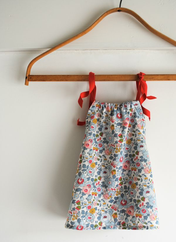 instructions to make the tiny triangle dress - the purl bee