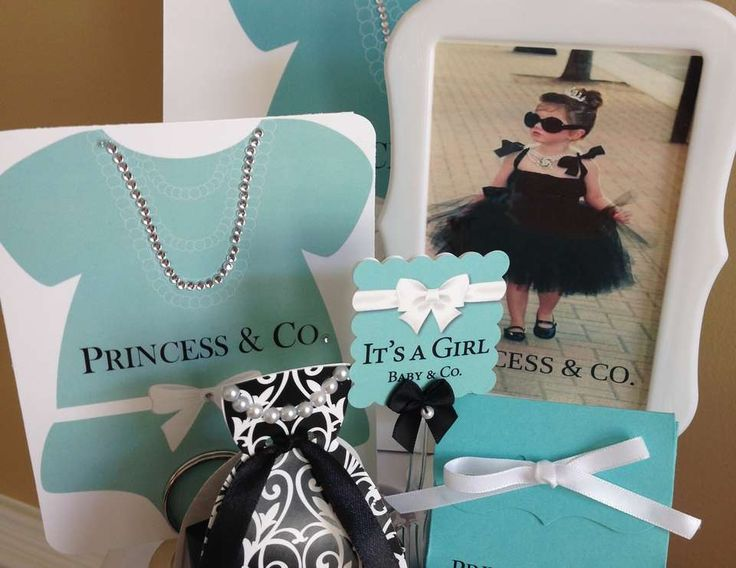 """Breakfast at Tiffany's / Baby Shower """"Tiffani's Books and Bows Shower"""" 