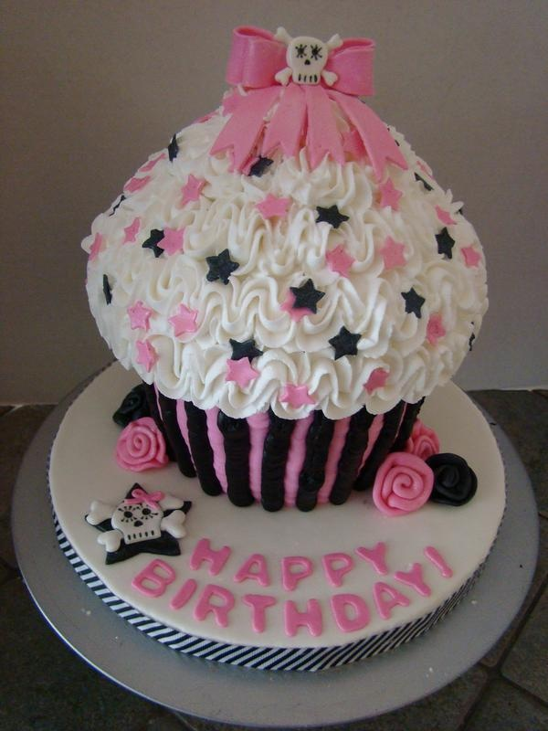 92 Best Giant Cupcake Ideas Images On Pinterest