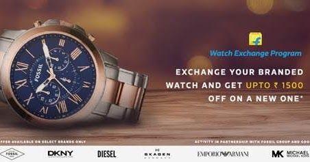 Flipkart announces India's first online 'Watch Exchange' in partnership with Fossil and Goonj Flipkart, Fossil, Goonj, Shopping.Business, Watch, Watch Exchange http://www.pocketnewsalert.com/2016/05/Flipkart-announces-Indias-first-online-Watch-Exchange-in-partnership-with-Fossil-and-Goonj.html