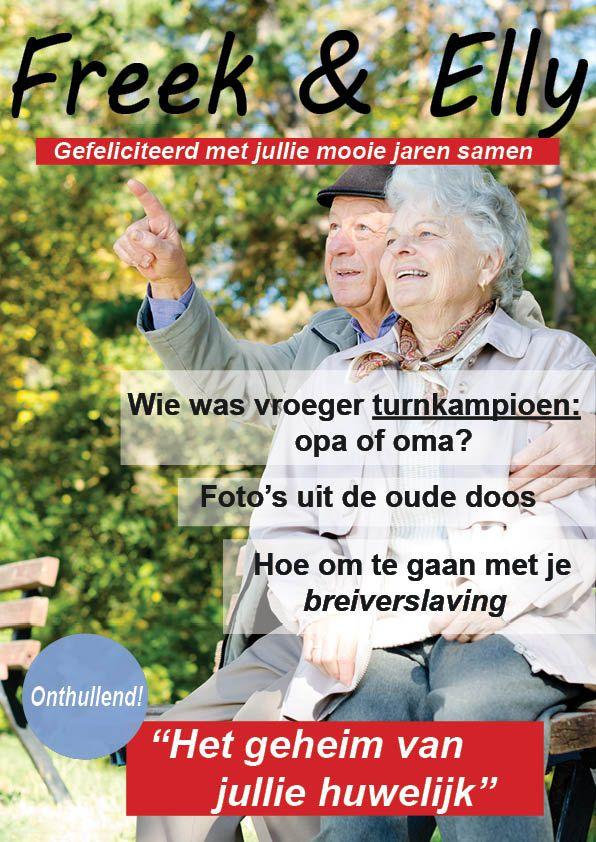 Maak een eigen tijdschrift voor je ouders die 50 jaar getrouwd zijn: http://www.jilster.nl/50-jaar-getrouwd
