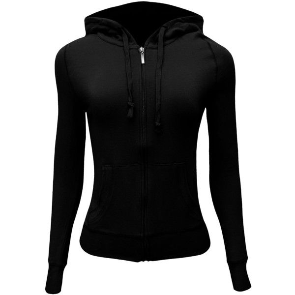 Enimay Women's Solid Color Athletic Zipper Hoodie (Small to Plus Size) ($11)... 11