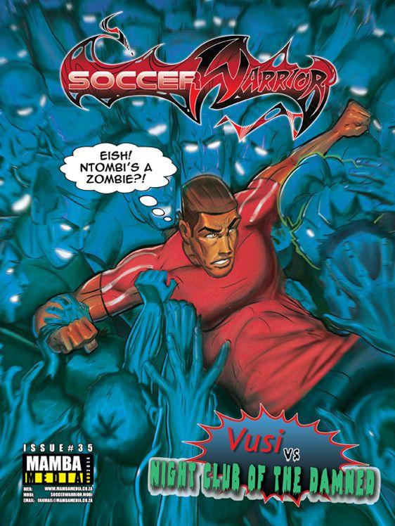 "Soccer Warrior November cover ""Nightclub of the damned"""