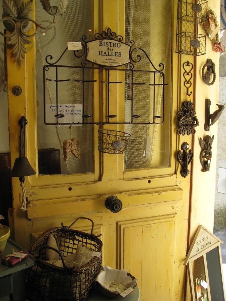 Shop in Bormes les Mimosas, France