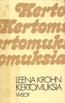 Leena Krohnin scifiä ja realismia yhdisteleviä novelleja.