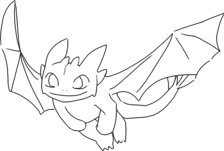Preschool Toothless Coloring Pages Best Coloring Pages For Kids