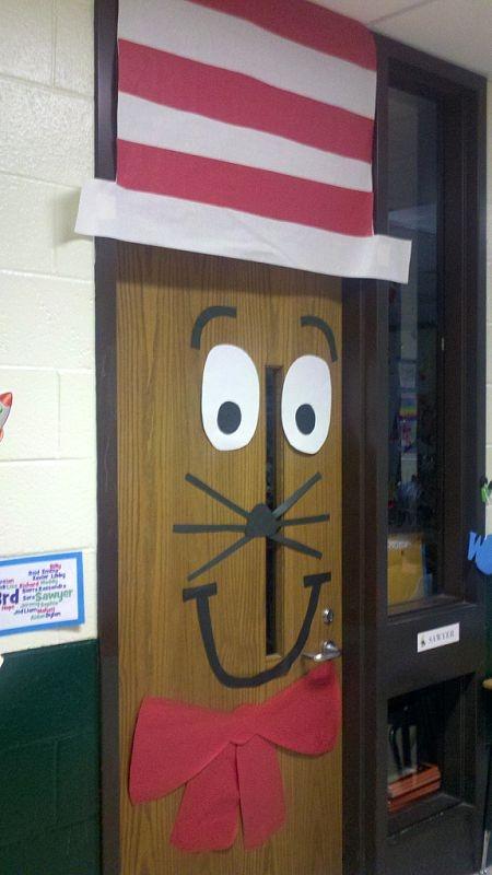 Cat in the Hat Door