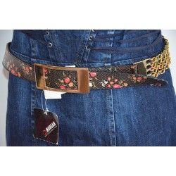 Morgan dámský pásek hnědý T1; belt