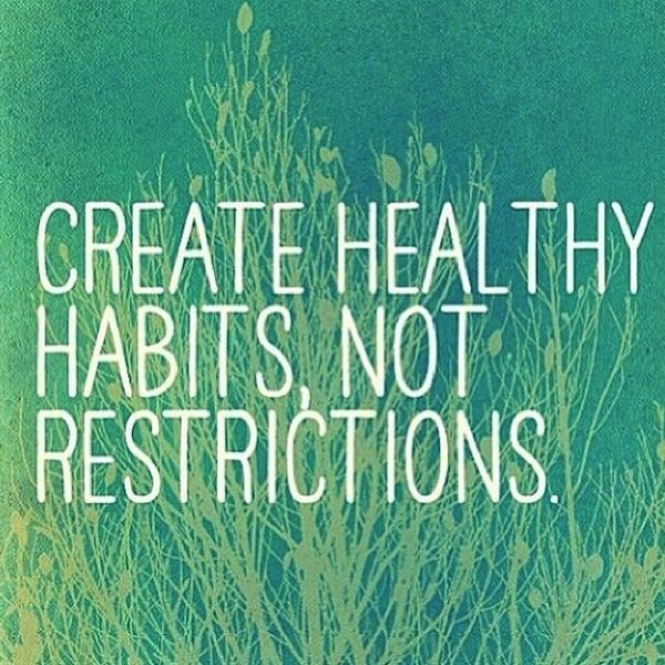 Create Healthy Habits, Not Restrictions | How to stick to your health commitments | healthy lifestyle tips   https://twitter.com/NeilVenketramen