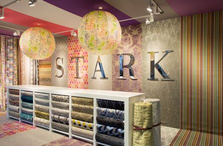 Bespoke giant globe lampshades for Stark Carpets - Decorex 2014 - Copper & Silk
