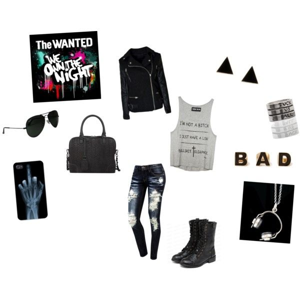 """Bad Attitude"" by anellis on Polyvore"