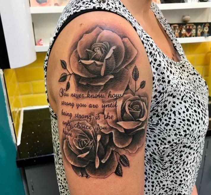 Fun Tattoo Ideas Schulter Tattoo Frauen Viertel Armel